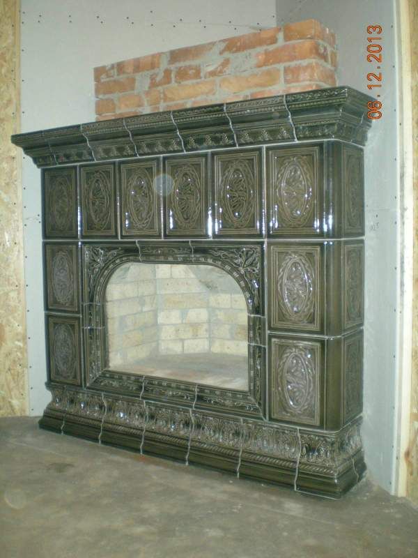 Order Facing of fireplaces and furnaces