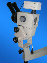 Заказать Установка видеонасадок на любой тип кольпоскопов, микроскопов