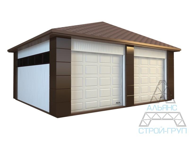 Order Production of metal garages