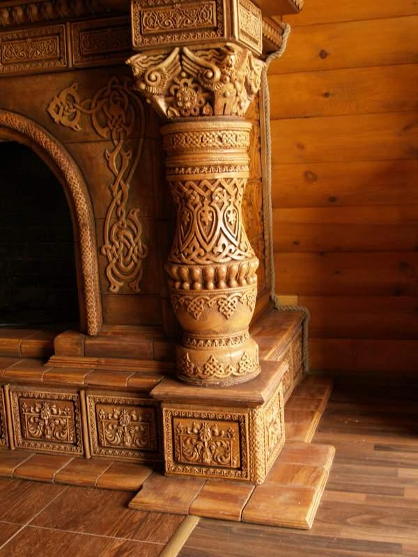 Заказать Старославянский камин
