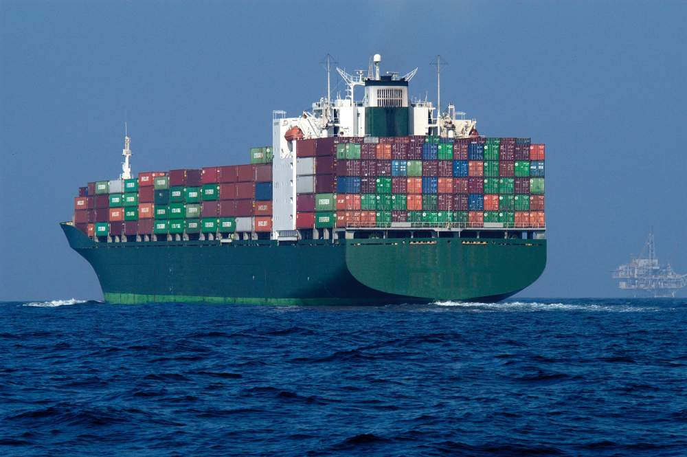 Order Sea container transportation of goods