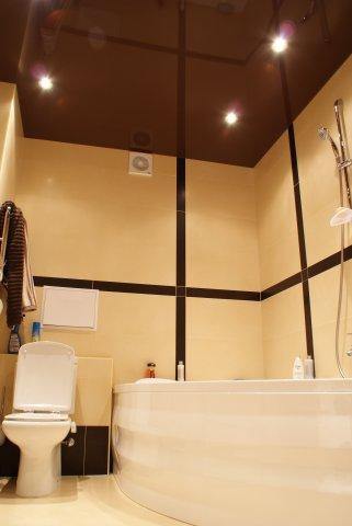 Заказать Установка натяжных потолков в ванной saros design