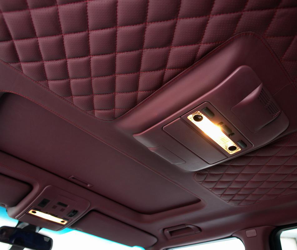 Перетяжка обшивки потолка автомобиля