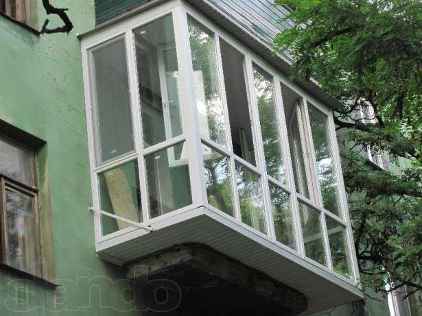 """Заказать балконы, лоджии """" под ключ """"; окна ; сварные две...."""