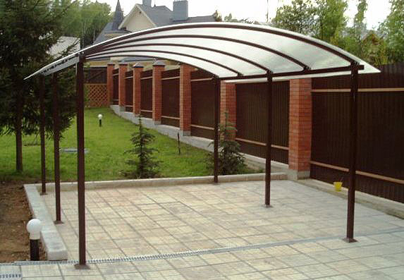 Order Canopies from polycarbonate