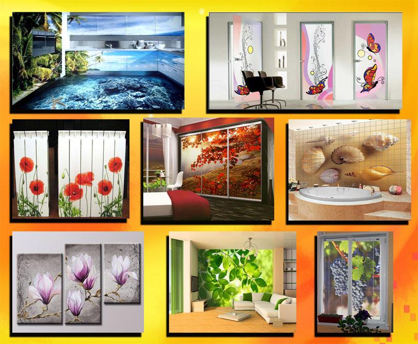 Заказать Фотопечать на стекле и зеркале