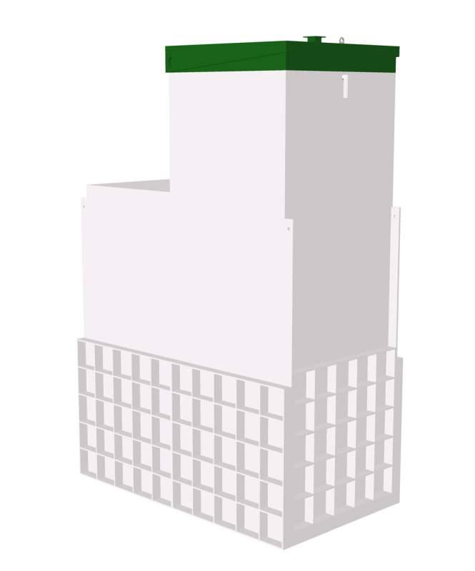 Автономная канализация для загородного дома ТОПАС 10 Long Пр, Услуги по водопроводу и канализации