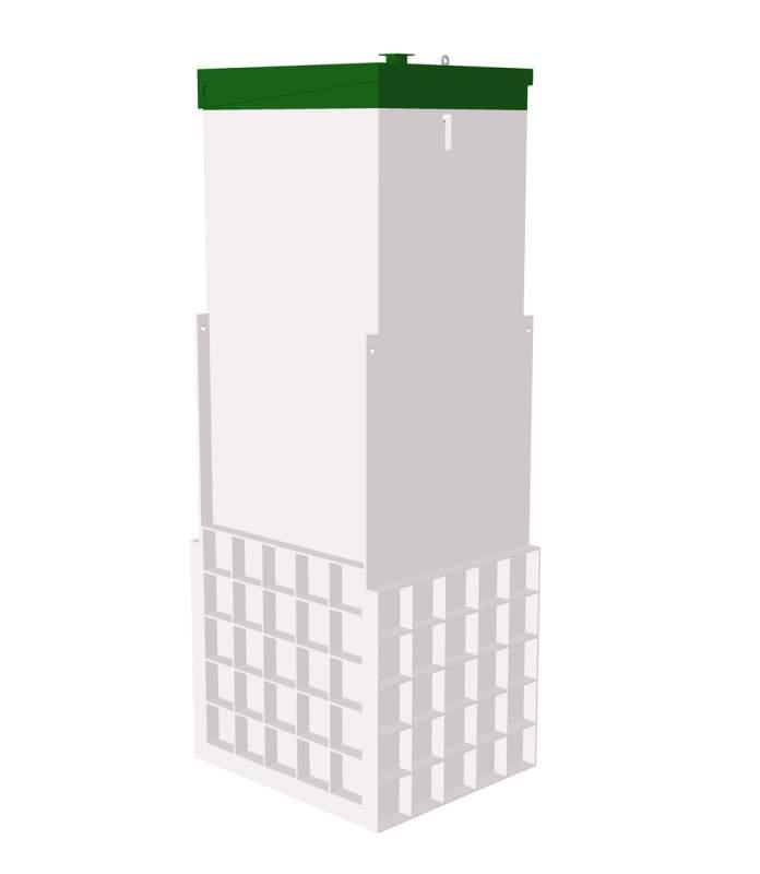 Заказать Автономная канализация для дома ТОПАС- 5 Long Пр., Монтаж канализации