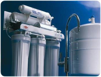 Монтаж насосов для очистки воды