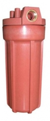 Монтаж картриджей для фильтров очистки горячей воды