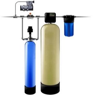 Установка фильтров для обезжелезивания воды, Установка фильтров для обезжелезивания воды в Луцке