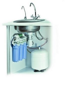 Установка фильтра тонкой очистки воды, Установка фильтра тонкой очистки воды Луцк