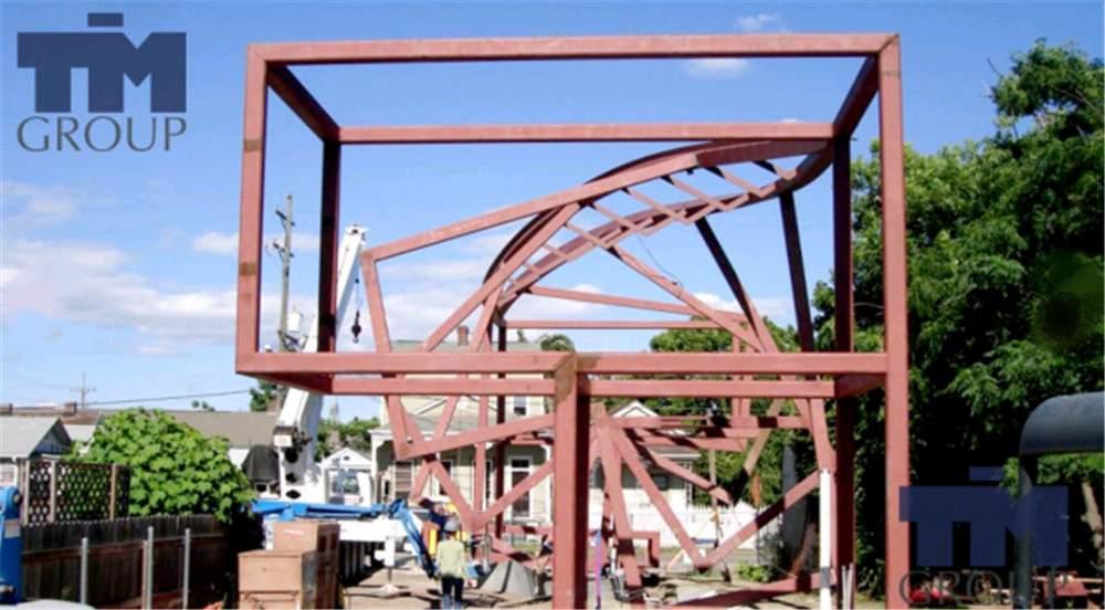 Заказать Строительство каркасных конструкций
