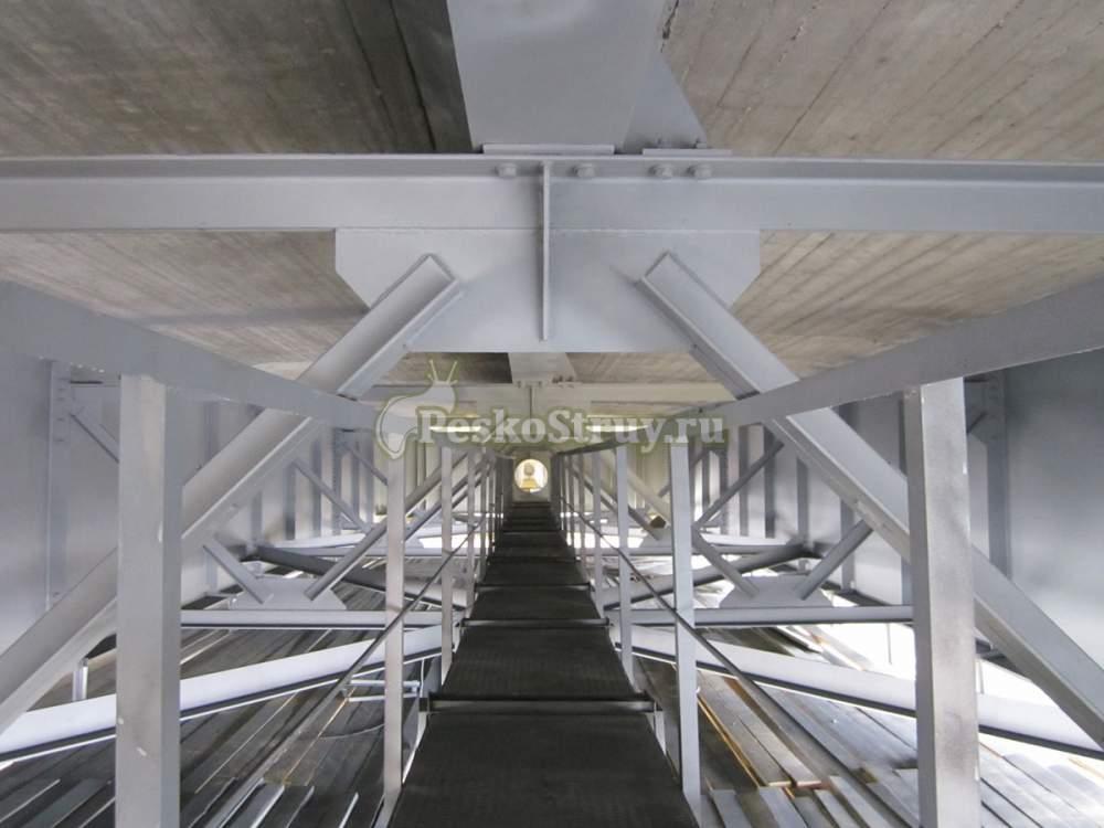 Заказать Пескоструйная обработка мостовых сооружений