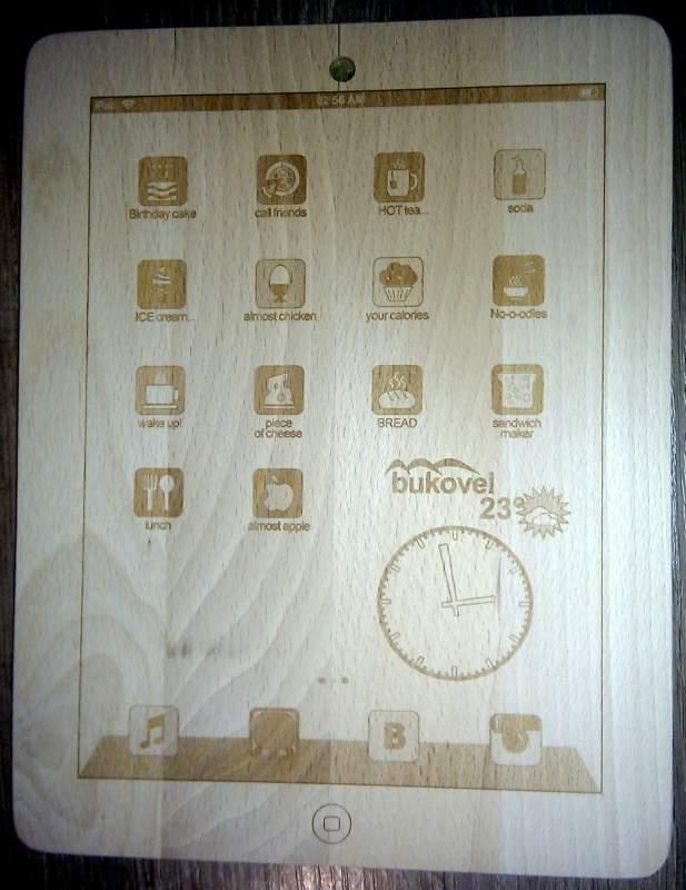 Заказать Лазерная гравировка маркировка по дереву.
