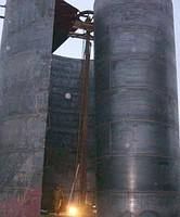 Заказать Монтаж вертикальных резервуаров