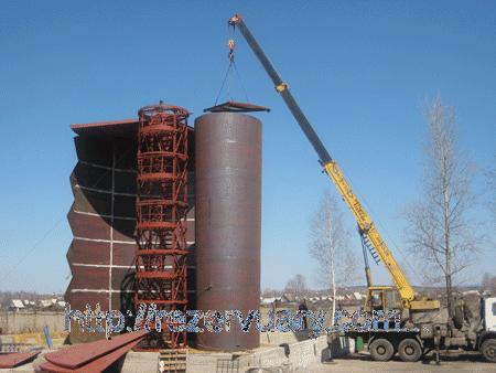 Заказать Проектирование Резервуар РВС-500