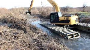 Расчистка  рек