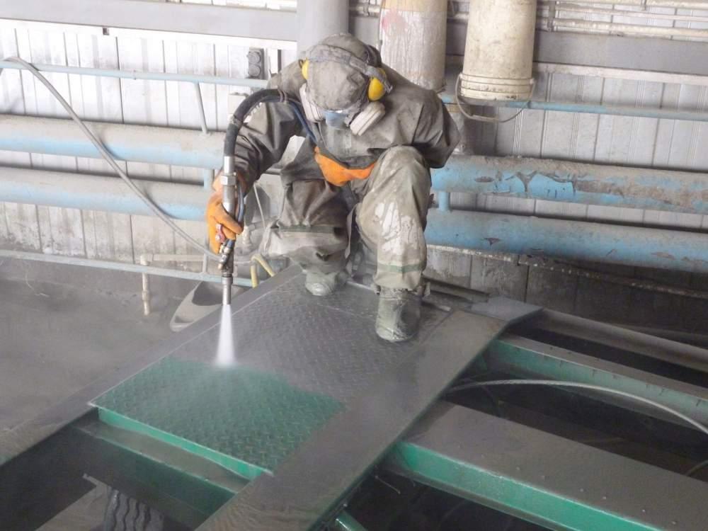 Заказать Гидроабразивная обработка металлический изделий