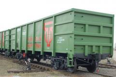 Заказать Пескоструйная обработка железно-дорожных вагонов
