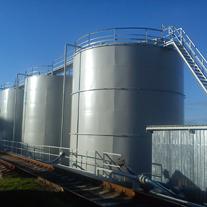 Заказать Строительство базы для хранения жидких минеральных удобрений