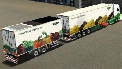 Грузоперевозки овощей и фруктов рефом и тентом 20т.