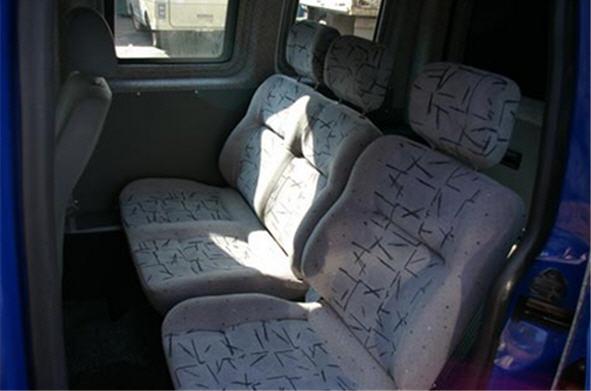Заказать Установка пассажирских сидений в микроавтобусы