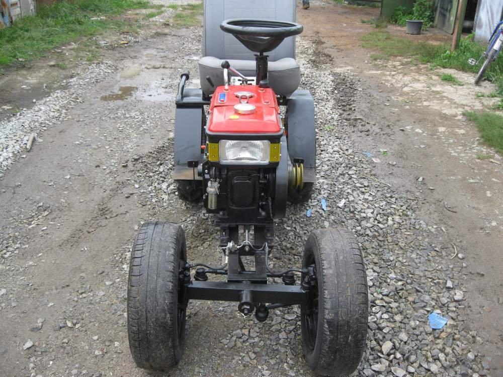 Заказать Переделка мотоблока в мини трактор