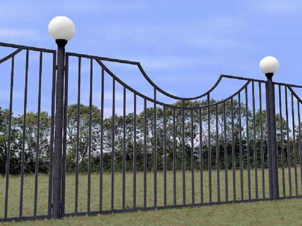 Заказать Сварной забор, ворота