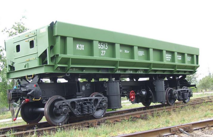 Заказать Подборка вагонов для подачи на грузовые фронты - думпкары