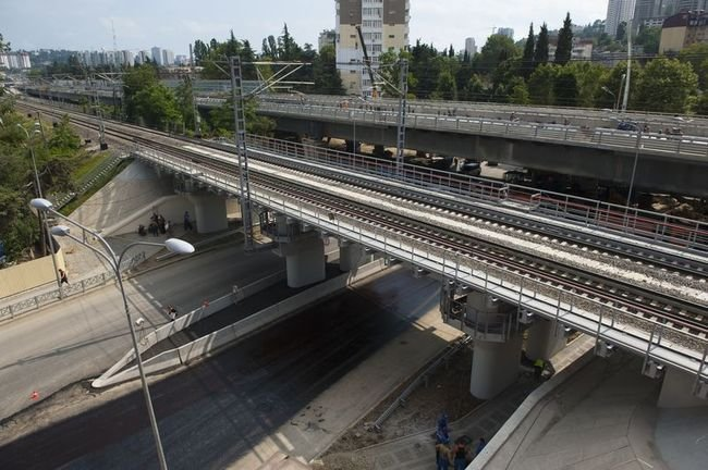 Строительство и ремонт транспортных эстакад