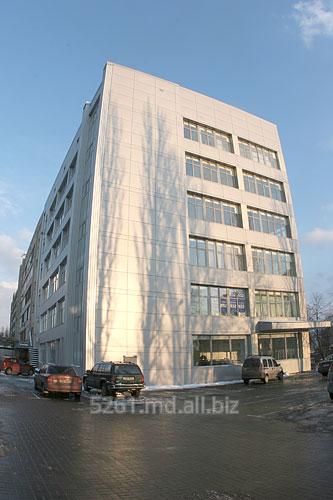 Заказать Облицовка фасада композитными алюминиевыми кассетами