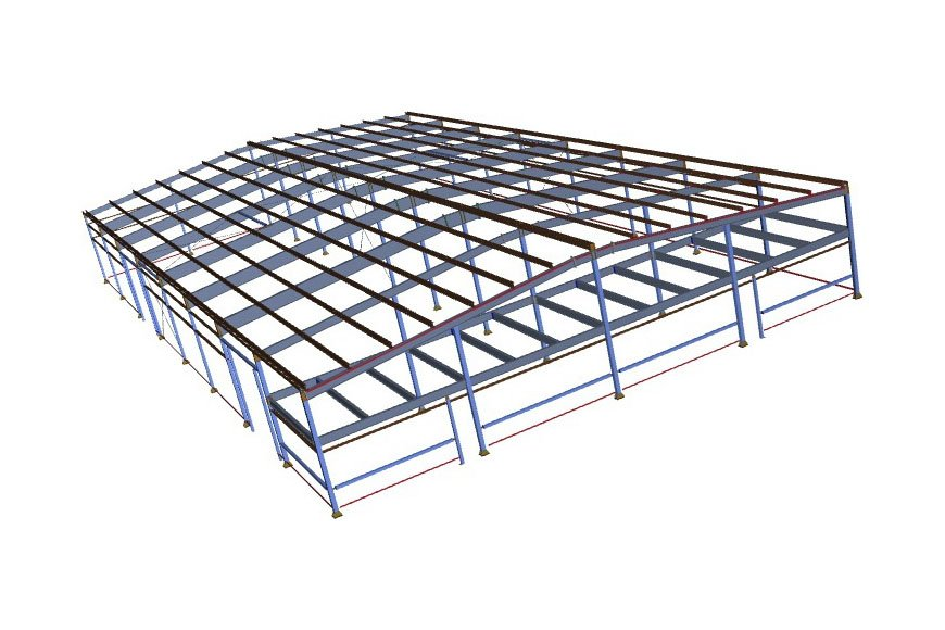 Заказать Проектирование зданий, проектирование металлоконструкций, проектирование складов, сто, автомоек, промышленных зданий от Viton.