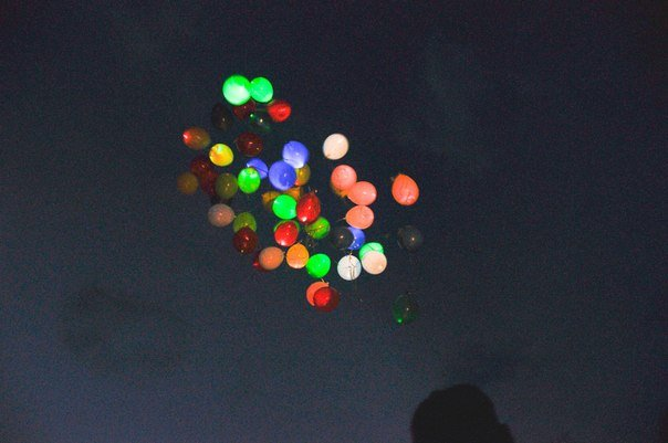 Заказать Запуск шаров Киев