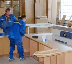 Заказать Услуги по изготовлению мебели из натурального дерева