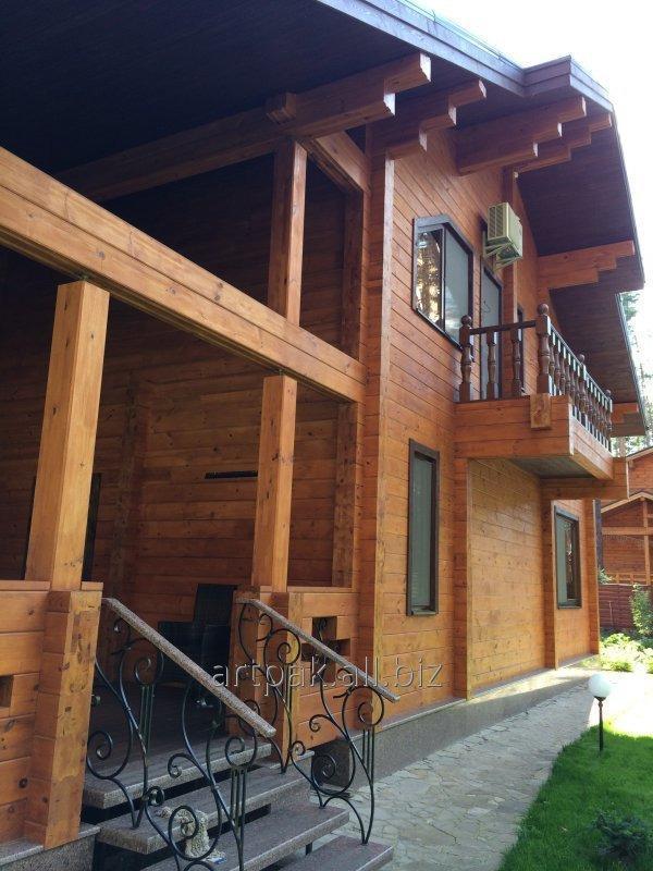 Заказать Строительство деревянных домов из клееного бруса
