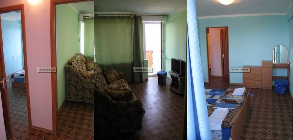 Заказать Гостиничные номера: двухкомнатные двухместные 4х местный номер, 2, 3, 5 -й этажи, ЛЕВОЕ крыло, двухкомнатный