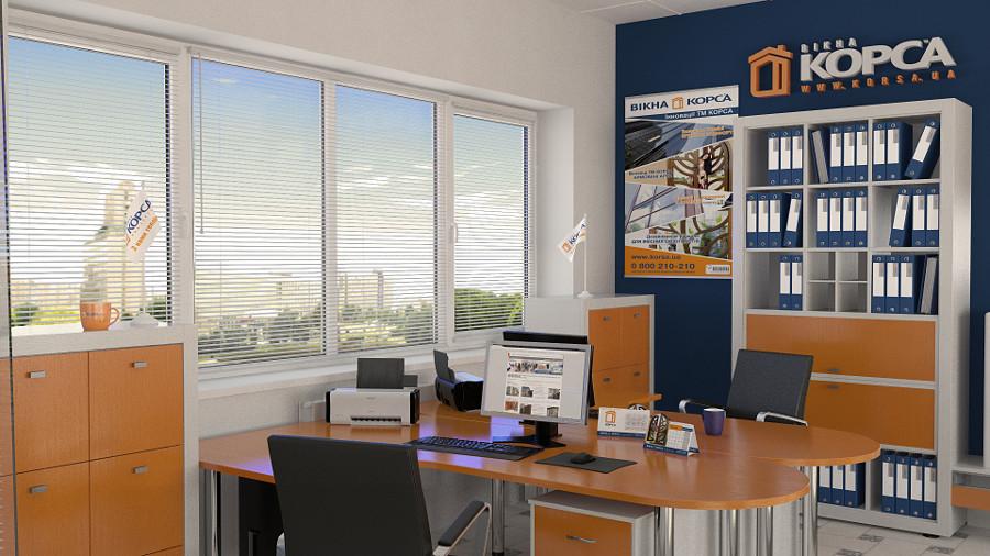 Заказать Установка и изготовление Металлопластиковых окон для офиса