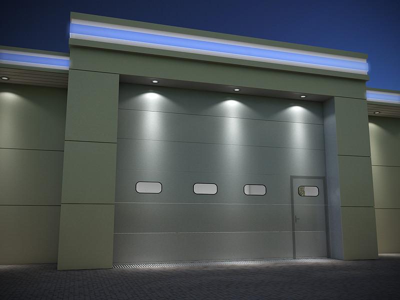 Заказать Изготовление и установка секционных гаражных ворот