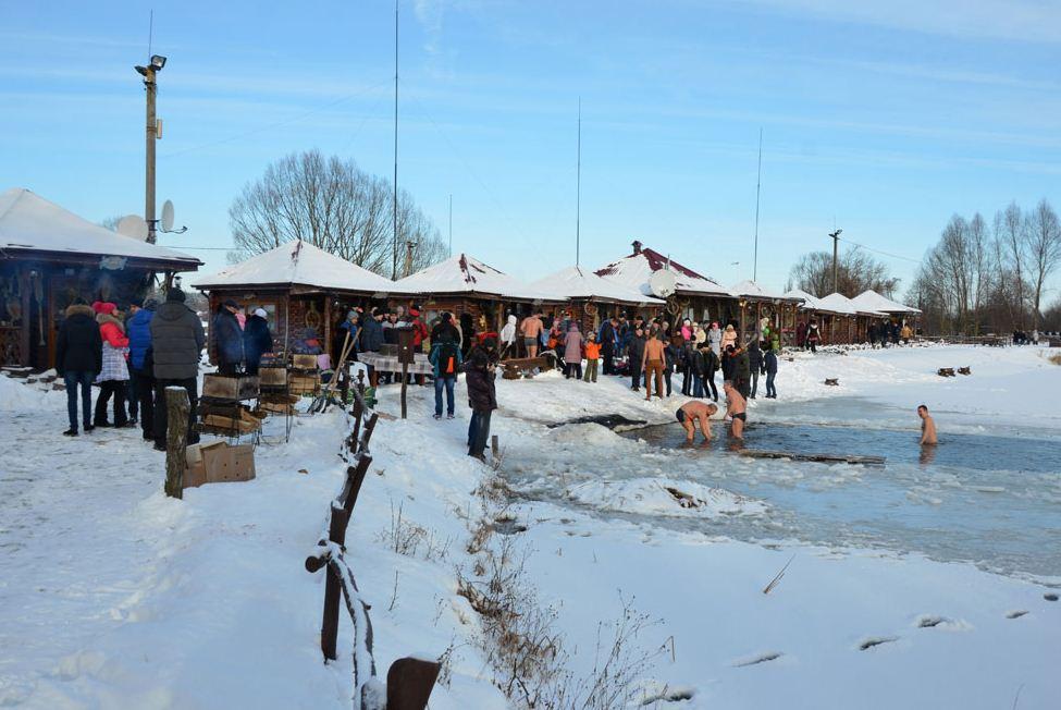 Заказать Отдых на природе зимой Рыбацкий хутор