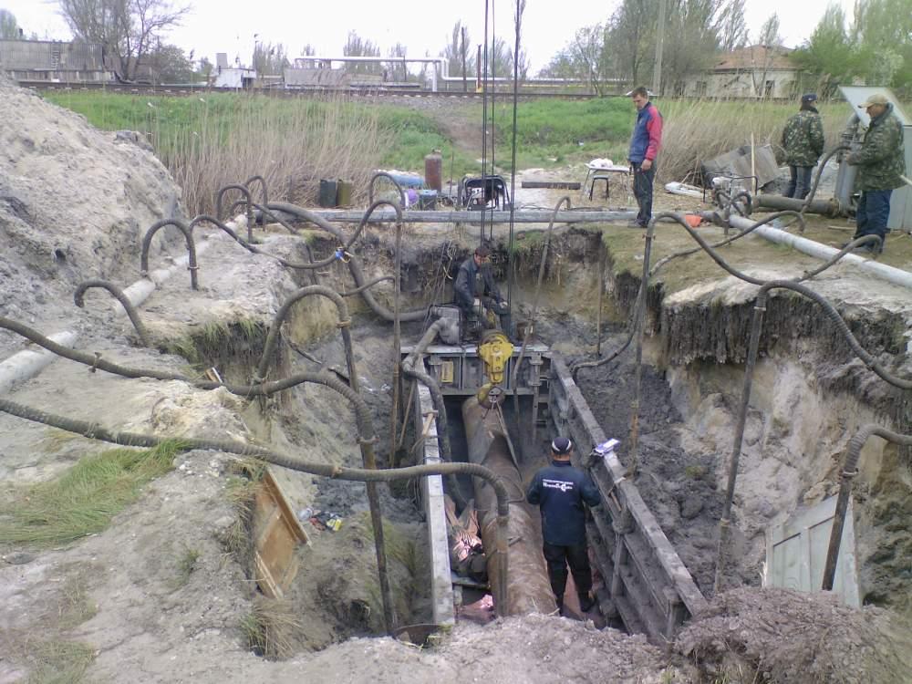 Проколы под дорогой методом ГНБ Одесса