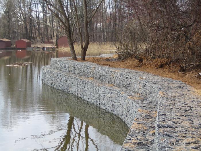 Услуги по берегоукреплению рек и прочих водоемов Одесса