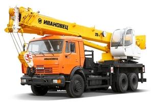 Заказать Аренда автокрана КС55713-1К КАМАЗ 65115