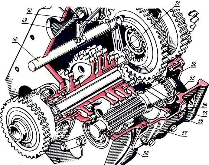 Ремонт КПП тракторов Т-16,