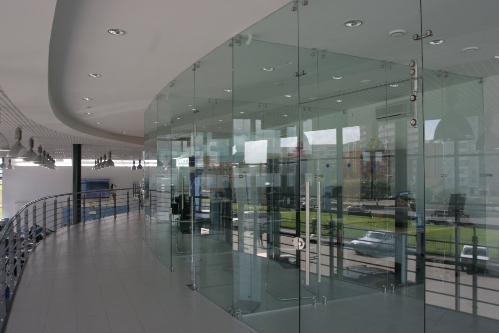 Order Glass partitions for office and the house
