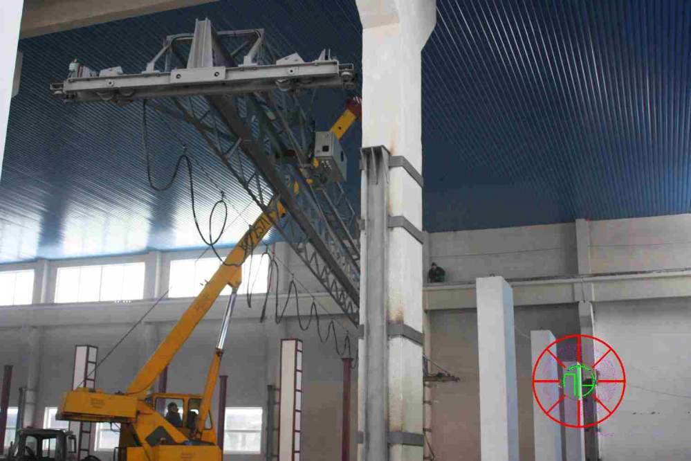 Монтаж кранового оборудования, таль, моторный грейфер, тележка, подъемник