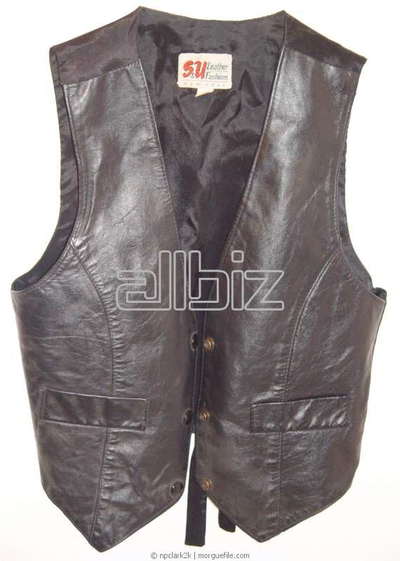 Заказать Пошив кожаной одежды: брюк, пиджаков, жилетов, курток