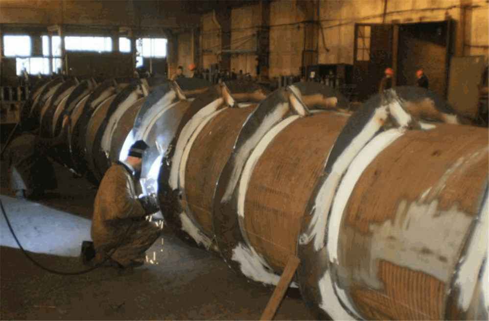 Заказать Изготовление трубопроводов из горячекатаного листового проката