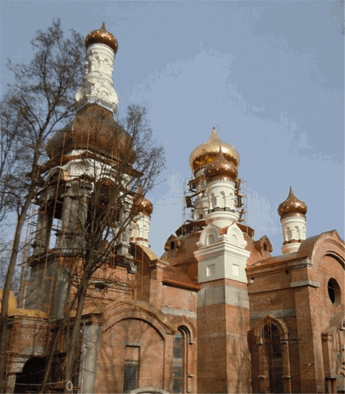 Заказать Производство куполов для храмов