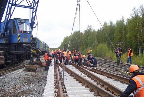 Заказать Строительство и ремонт железнодорожного пути